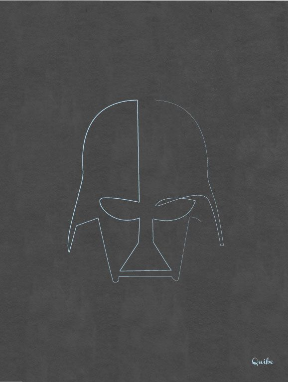 Quibe-One-Line-Vader