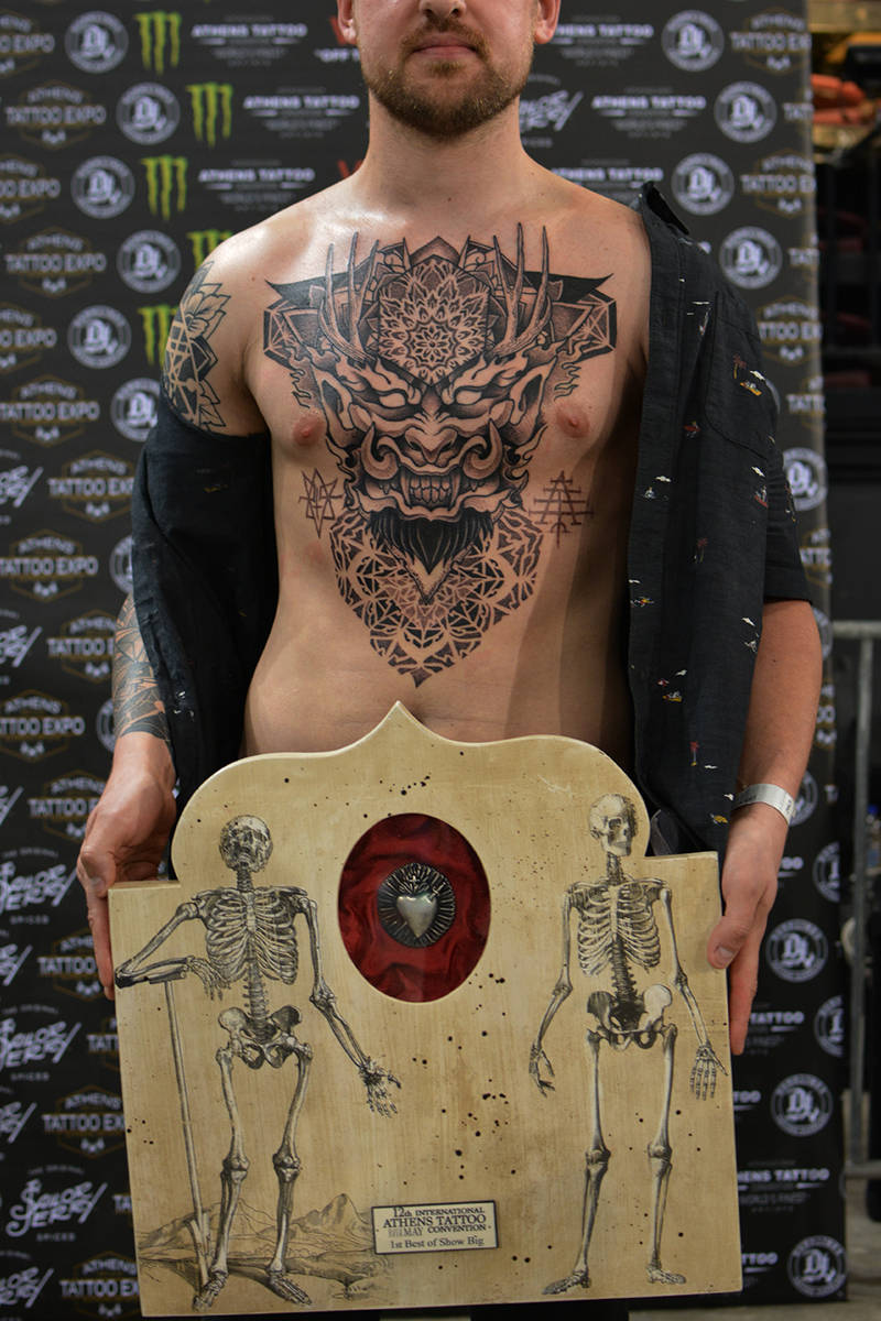 12th Athens Tattoo Convention | Dimitra Nifakou
